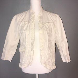 DKNY 100% cotton jacket. Size L